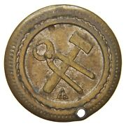 England Gb Uk - Ca. 1900s 2 Penny Token - S.d.co - Hammer And Pincers