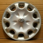 One Mazda 626 Dx Lx Mx-6 14 Hubcap Wheel Cover 1995 1997 Oem Silver 147js