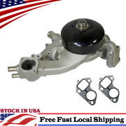 New 251713 Water Pump 4.8l/5.3l/6.0l V8 For Chevy Gmc Buick Cadillac