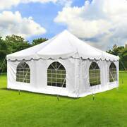 Weekender 20x20and039 Tent With 4 Sidewalls Wedding Event 14 Oz Vinyl Party Canopy