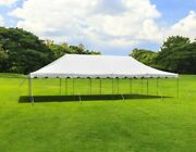 Commercial 20x40and039 Economy Pole Tent Wedding Event Party Canopy Waterproof Top