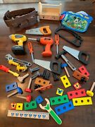 Play Tool And Building Mixed Lot Disney, Black And Decker, Home Depot Playset Mixed