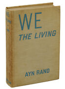 We The Living By Ayn Rand First Edition 1936 1st Printing Macmillan Novel