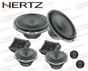 Hertz Mpk163.3 6.5 150w Rms Direct Fit Component Set Speakers