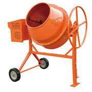 Briggs And Stratton 8.83 Cubic Feet Gas Cement Concrete Stucco Mixer Heavy Duty