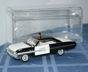 Rare 1/32 Diecast 1964 Ford Galaxie Camden Police Arko Products Toy Model Car