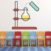 Test Tube Science Experiment Wall Decal Sticker Ws-47026