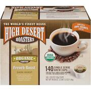 High Desert Roasters French Roast Coffee 140 To 280 Keurig K Cups Pick Size