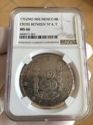 Mexico 1762 Mo Mm 8 Reales In Ngc Ms60