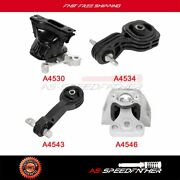 Engine Motor And Trans. Mount Set 4pcs For 2008 Honda Civic Dx-g Coupe 2-door 1.8l