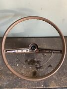 1963 Chevrolet Impala Steering Wheel And Horn Ring