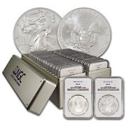1986-2021 Complete Silver Eagle Set Ngc Ms69 36-coins
