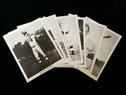 Set Of 7 1956 Cleveland Browns Team Issued Photographs