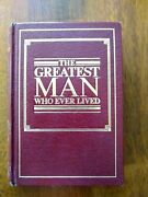 The Greatest Man Who Ever Lived Watchtower Jehovah Witness Ibsa 1991 Hard Cover