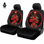 For Honda New Marvel Comic Deadpool Car Truck Suv Seat Covers And Free Gift