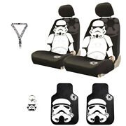 For Jeep 6pc Star Wars Stormtrooper Car Seat Covers Mats And Accesories Set