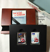2012 Australian Olympic Team Road To London 1/2oz Silver Proof Stamp Coin Set