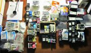 Lot Of 112 Mixed Printer Ink Cartridges New And Mostly Used. Various Brand Names.