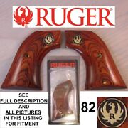 Factory Ruger Wrangler Rosewood Laminated Wood Grips 82