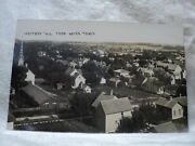 Hartford Wi Wisconsin City From Water Tower 1908 Rppc Postcard
