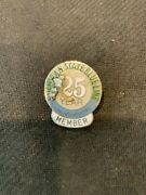 Ncaa-michigan State Spartans Blueline 25th Year-member Hockey 3 D Pin