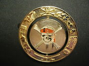 Disney Shopping.com Pirates Of The Caribbean Medallion Spinner Pin Le 250