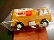 1970's Vintage Tootsie Toy Shell Oil Aviation Fuel Tanker Truck Clean Used