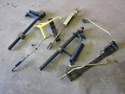 John Deere 425 445 455 Misc Mower Deck Height Linkage Brackets Spring Rod