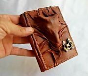 Handmade Leather Journal,writing Notebook Diary,genuine Mini Leather Bound /goat