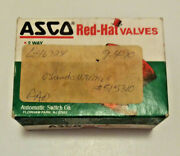 Nos Asco Red Hat Spare Part Kit 302296-mo For Solenoid Valve 8210/8211