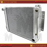 For 67-69 Chevy Camaro Sb Direct Fit Al Radiator W/ At Cooler Direct Replacement