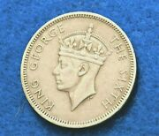 1951 Hong Kong 50 Cents - Great Coin - See Pictures