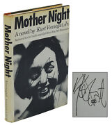 Mother Night Signed By Kurt Vonnegut Jr. First Edition 1st Printing 1966