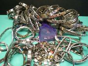 Vtg Stainless Steel Charm Bracelets Collectible Charms Pieces Lot/mix