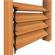 Nuvo Iron Louver Blinds And Shutter System - Hardware Kit - Lsb48 2 Pack