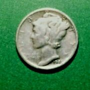 1941pmercurysilver Dime-coin Is A Representation Of The Thought Of Liberty