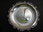 Vintage Epca Old English Silverplate By Poole 5002 Serving Tray, 15 Diameter