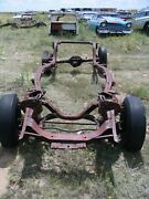 57 1957 Ford Custom Frame Chassis Narrow 9 9 Inch Axle With Paper And Door Tag