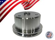 New Small Block Chevy Crank Pulley V-belt Single Groove 305 327 350 400 Sbc Lwp