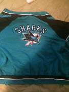 New San Jose Sharks Jacket New With Tags Mens Size Xl3 Four By Grill Sport