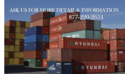 Special Ga Shipping And Storage Container / 40and039hc / Savannah Ga