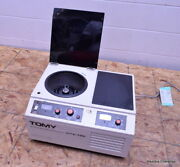 Tomy High Speed Micro Refrigerated Centrifuge Model Mtx-150 Inverter With Rotor