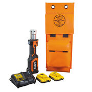 Klein Tools Bat207t13 Battery-operated Cutter/crimper No Heads 2 Ah