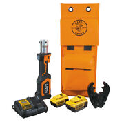 Klein Tools Bat207t234h Battery-operated Cable Crimper O+ Die Head 4 Ah