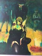 Miguel Angarita Oil On Canvas Signed With Coa 50.5 X 39.5