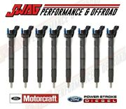 15+ Ford 6.7l Powerstroke Oem Replacement Fuel Injector Set 8 -truck Only