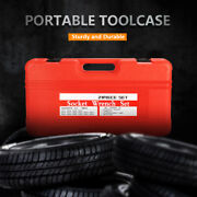 New 20pc 3/4 Inch Drive Air Impact Cr-v Steel Socket Metric Set With Metal Case