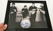 8x10 Photo Of Drummer Pete Best Ex-beatles - Signed/autographed