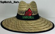 Sonora Mexico Pemex Logo Straw Hat Brand New Ships Now