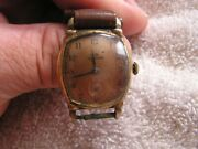Vintage Helbros Watch 7 Jewels Minty Copper Dial
